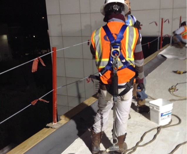 Commercial Roofing Work Safety